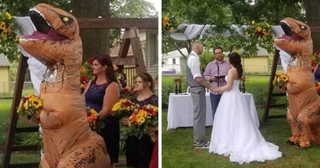 אין ספק שזו תהיה חתונה בלתי נשכחת...